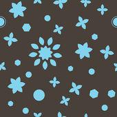 Skönhet brun sömlös inslagning mönster — Stockvektor