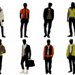 Male fashion — Vector de stock