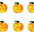 Pumpkins — Stock Vector