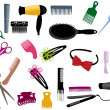 Hairdressing - Stock Vector