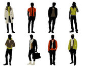 Male fashion — Stock Vector