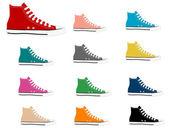 Sneakers — Stock Vector