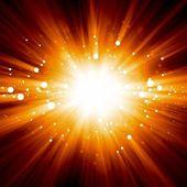 Abstraktní exploze — Stock fotografie