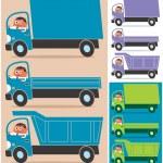 Truck Driver — Stock Vector #11649967