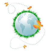 Eco planet — Foto de Stock