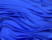 Abstract blue royal fabric — Stock Photo