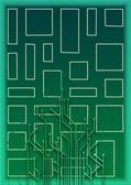 Abstract set of printing conductors — Stock Photo
