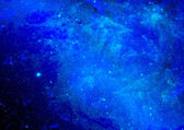 Nebulosa y espacio estrellas — Foto de Stock