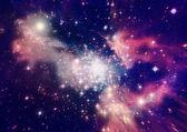 Galassia lontana — Foto Stock