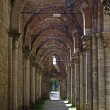 Tuscan,abbey of San Galgano - Stock Photo