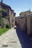 Tuscan,ancient village — Stock Photo
