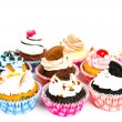 Cupcakes isolated on white background — Stock Photo #11101294