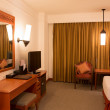 Stock Photo: Interior of modern comfortable hotel room