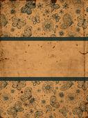 Tarjeta de mariposas — Vector de stock
