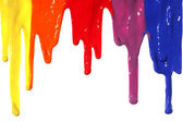 Paint dripping — Stock Photo