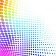 Stock Photo: Colorful halftone