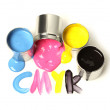 CMYK cans of paint — Stock Photo #10839222