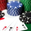Four aces — Foto Stock