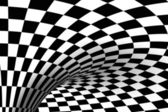 Black & White tiled background — Stock Photo