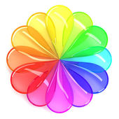 Color wheel — Stock Photo