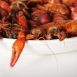 Boiled crawfish - Stock Photo