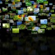 Stock Photo: Scattered images