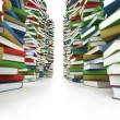 Foto Stock: Huge stack of books