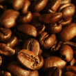 Stock Photo: Pile of coffee beans