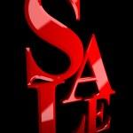 Sale . — Stock Photo