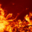 Fiery hot background — Stock Photo
