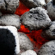 Coals for a BBQ — Stock Photo