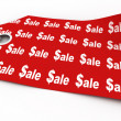 Sale tag — Stock Photo