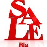 Sale — Stock Photo