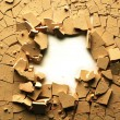 Dried cracked earth — Stockfoto