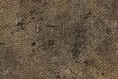 Dirty burlap texture — Stock Photo