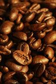Stapel van koffie bonen — Stockfoto
