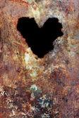 Grunge tekstur z serca — Zdjęcie stockowe