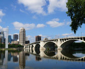 Minneapolis cityscape — Stock Photo