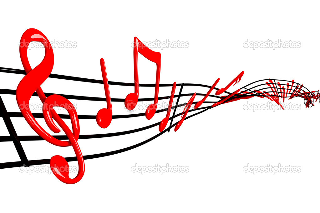 Music design  Stock Photo #10844961