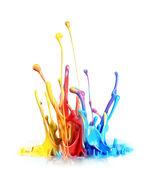 Salpicaduras de pintura — Foto de Stock