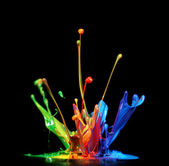 Peinture splash — Photo
