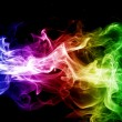 Stock Photo: Colorful smoke