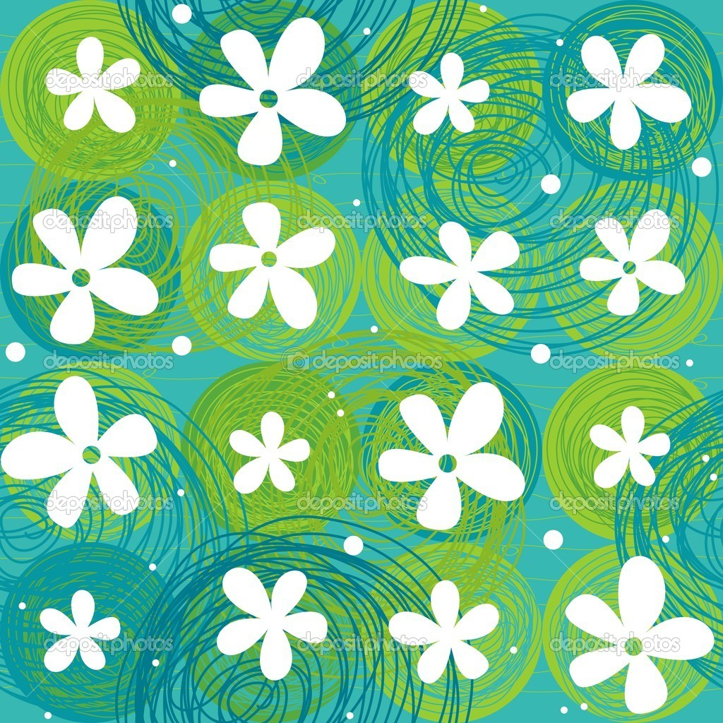 Seamless floral pattern — Stock Vector #11015450