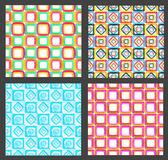 Sem costura abstrato geométrico — Fotografia Stock