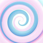 Colorful light blue glossy twirl background — Photo