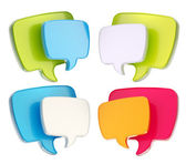 Text speech bubble icon isolated — Stock Photo