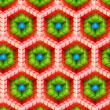 Seamless hexagon cube background texture — Stock Photo #11482460