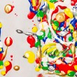 Stock Photo: Splatter paint background