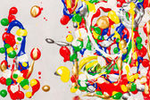 Splatter paint background — Stock Photo