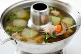 Chinese healthy soup — Stock Photo